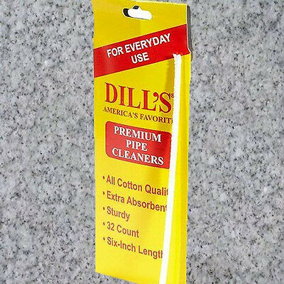 DILL'S STANDARD PIPE CLEANERS - 1 BUNDLE OF 32