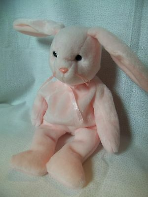 TY Beanie Babies Pink Rabbit ** HOPPITY ** 5th Generation New w/ Tag