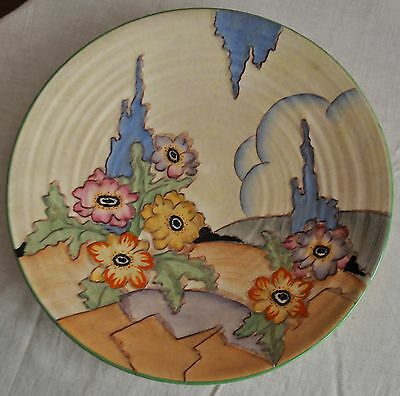 Crown Devon Fieldings floral Wall Charger pattern number 19440