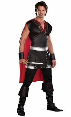 Adult Mens Roman Gladiator Centurion Warrior Fancy Dress Costume Sizes Large XL