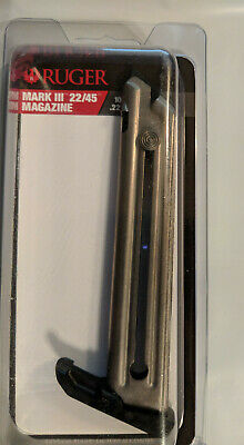 Ruger Mark III 22/45 10 Round Magazine 90229 MK3 10rd Mag - Factory NEW OEM