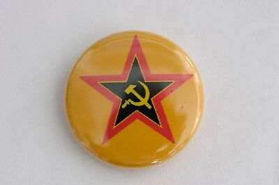 """South African Communist Party anti-Apartheid ANC Joe Slovo 1"""" Button Badge Pin"""