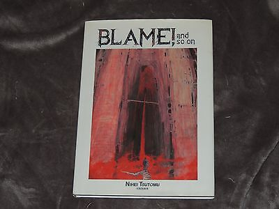 Tsutomu Nihei Blame! and so on Illustrations Art Book Biomega Knights of Sidonia