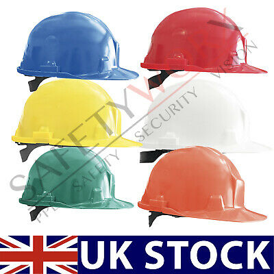 Hard Hat Safety Helmet Head Protection Bump Cap Vented 6 Point Harness Builders