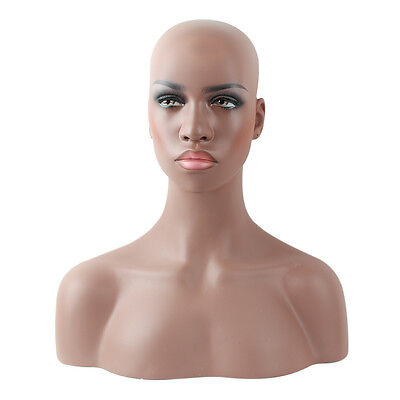 Fiberglass Mannequin Head Bust For Wig, Jewelry And Hat Display