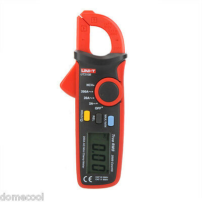 Counts 2000 UT210B True RMS AC Digital Current Clamp Meter Ammeter NCV Test