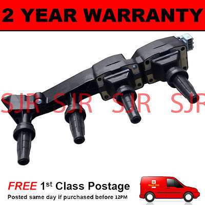 For Peugeot 206 207 307 308 Partner Teepee 1.6 Grey Plug Type Ignition Coil Pack
