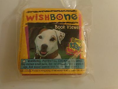 "1996 Wendy's Kids Meal Toy - Wishbone ""BOOK VIEWER"" Oliver Twist, New in package"
