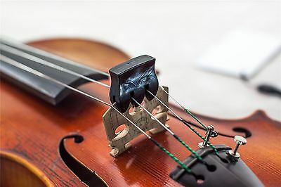 New High Quality Lightweight Violin Viola Practice Mute Black Free Shipping