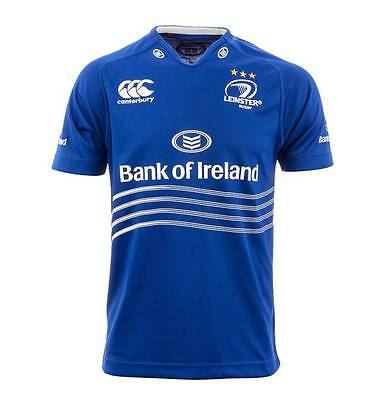 Leinster Pro Men Home Rugby Jersey Size S-3XL