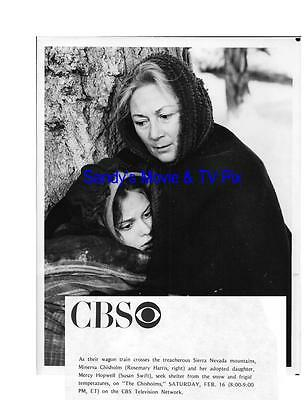 ROSEMARY HARRIS, SUSAN SWIFT Terrific Original TV Photo THE CHISHOLMS