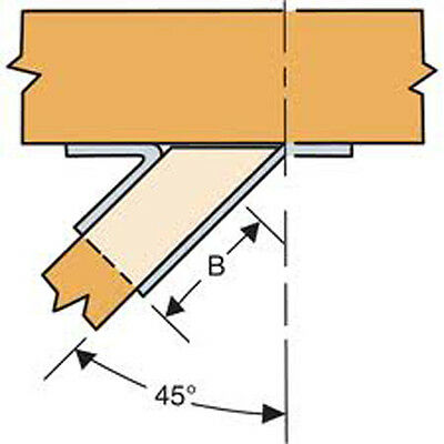 """Simpson Strong-Tie SUL210 Left Skewed Hanger 2"""" x 10"""" (set of 4) FREE SHIPPING"""