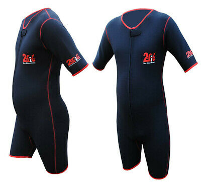 2Fit Sauna Sweat Suit Gym Boxing MMA Jogging WeightLoss Slimming Shorts UFC New