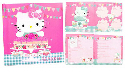 😊 HELLO KITTY TEA PARTY Freundebuch