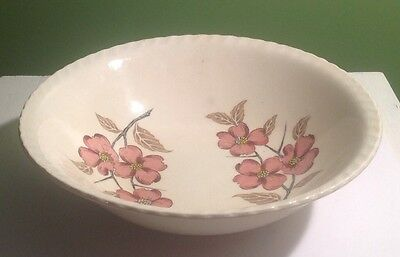 CHASE HAND PAINTED 9.25 INCH BOWL - FLOWER PATTERN