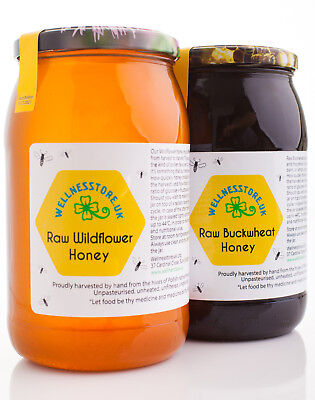 1,3 kg BUCKWHEAT HONEY Pure Natural 2017 Raw ECO Harvest + GIFT! miod gryczany