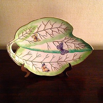 NEW Sir Humphrey Wakefield Stately Homes Butterfly Dish-Stunning!
