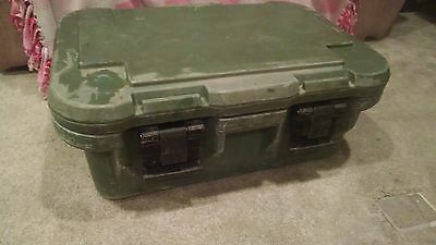 US Army Surplus CAMBRO Green Insulated Cooler Stainless Steel Container