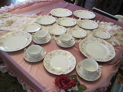 20 piece set of Hutschenreuther selb LHS Bavaria Germany China