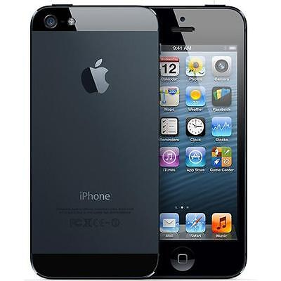 Apple iPhone 5 16 GB Black (Unlocked) good condition 12 months warranty