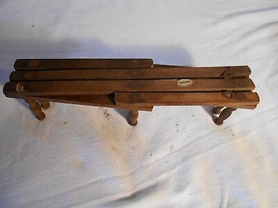 Vintage Collectible Adjustable Victorian  Coat Rack