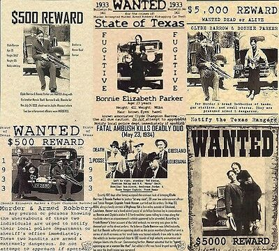 bonnie and clyde~BLOOD THIRSTY BARROW (6) PAK