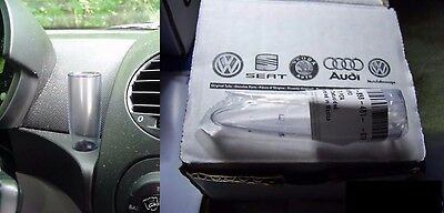 1998 - 2010 VW New Beetle NEW! Original CLEAR Flower Vase For Flowers or Daisies