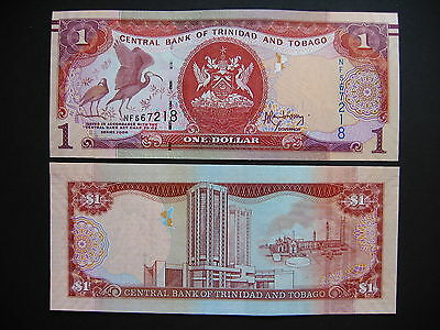 TRINIDAD AND TOBAGO  Banknote from 2006 (2014)  (Pnew)  UNC