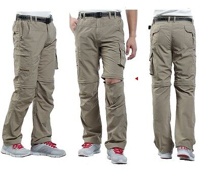 NEW Men Waterproof Breathable Hiking Quick-drying Travel Outdoor Pants FJJ