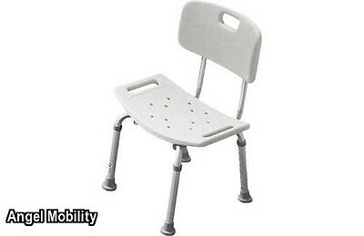 Disability Mobility Bath and Shower Seat Bench Height Adjustable Stool