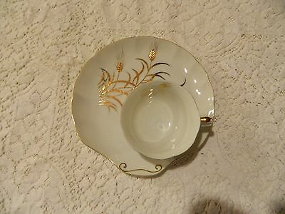 "Lefton ""Gold Wheat"" Pattern Luncheon Place setting"