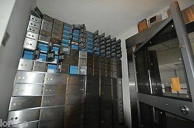 Bank Equipment -- Safety Deposit Boxes and Vaults