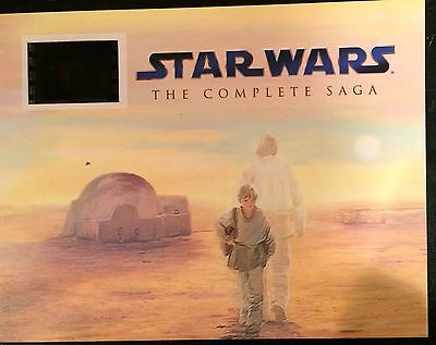 Star Wars Episode III- Revenge of the Sith collectible Senitype Film Cell