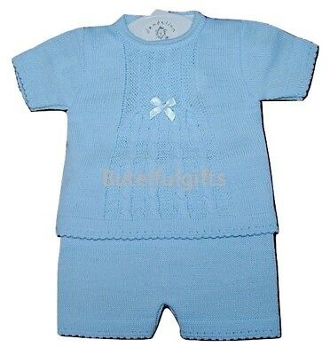 Baby Boys Beautiful Fine Knit Set/Outfit Newborn 0-9 Mth *One Supplied*