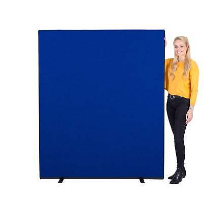 New Office Screens Partition Divider 1500mm w x 1800mm h Colour: Blue