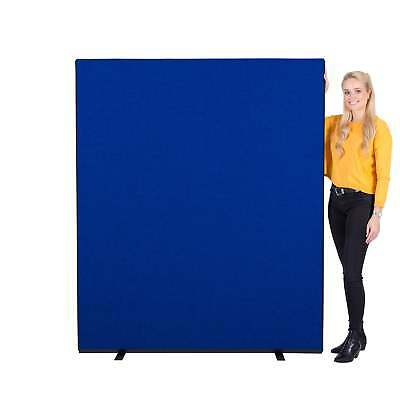 Next Day Delivery Office Screens 1500mm w x 1800mm h Colour: Blue