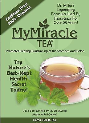 Dr. Miller's Holy Tea 6 Month Supply 25% Discount  | My Miracle Tea Herbal DeTox