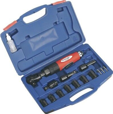 """Sealey Air Ratchet Wrench Kit 1/2""""Sq Drive"""