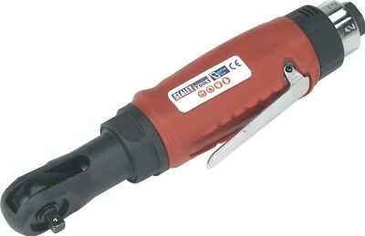 """Sealey Compact Air Ratchet Wrench 1/4""""Sq Drive"""