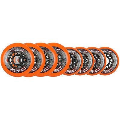 LABEDA WHEELS Inline Roller Hockey GRIPPER ASPHALT OUTDOOR ORANGE 72/80mm HILO