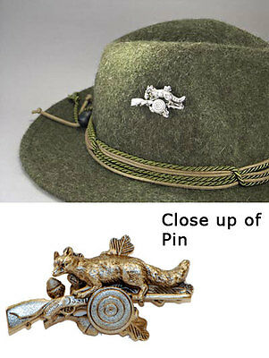 Germany Bavarian - Oktoberfest Hunter Jaeger - Fuchs - Fox - German Hat Pin