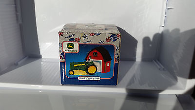 2000 Enesco John Deere Salt & Pepper Shakers In Original Box