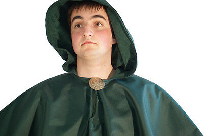 LARP-SCA-Cosplay-Soldier-Gothic-Pagan-Historical-Archer-WATERPROOF HOOD CAPE
