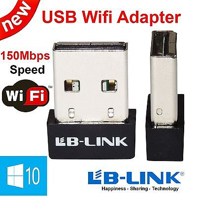 LB-LINK Mini 150Mbps USB Wireless Wifi Dongle Adapter 802.11/B/G/N LAN Network