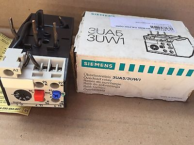 New In Box Siemens 3Ua54 00-1J Overload Relay 6,3-10A Vde 0660 (I6)