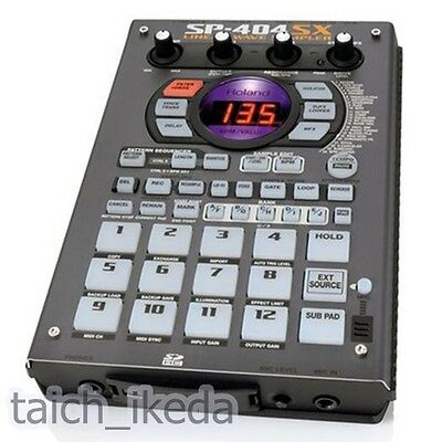 Roland SP-404SX Compact Linear Wave Sampler Portable SD1GB 100-240V NEW