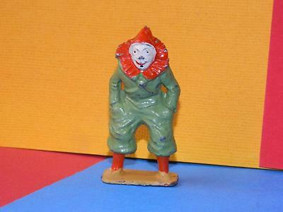 Vintage Rare Pre-War Charbens Lead Mimic Circus Series Standing Clown