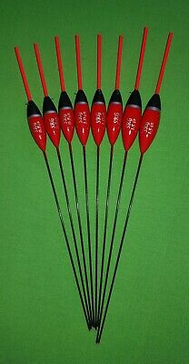 8 x  Assorted High Quality Pole Fishing Floats (Pack 306R8)