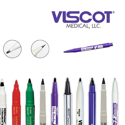 Viscot SURGICAL SKIN MARKER PEN - TATTOO & PIERCING PREP- Recommended by Artists