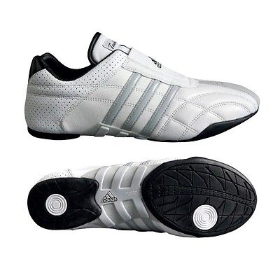 New adidas ADI-LUXE Taekwondo Karate MMA Hapkido Martial Arts Indoor Shoes-WHITE